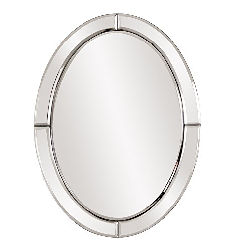 Howard Elliott 99072 Oval Mirror, Opal