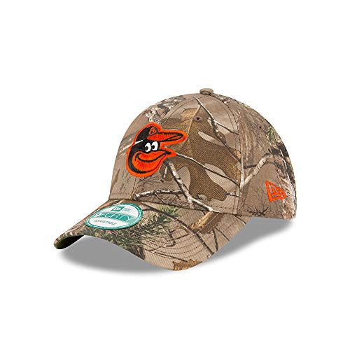 Baltimore Orioles Camouflage Caps. New Era Baltimore Orioles The League Realtree  Camo 9FORTY Adjustable Hat Cap 781bbbc2091e