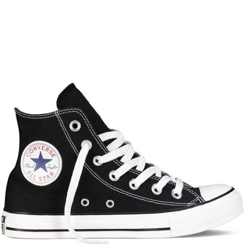 Converse Mens Chuck Taylor All Star Hi Top Zwart / Wit