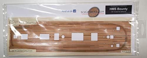 - Premium Wood Deck for 1/87 HMS Bounty (fits Airfix kit)