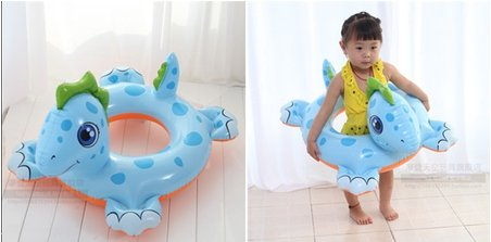 Target My Little Pony Costume (Baby Kids Toddler Inflatable Swimming Swim Ring Float Seat Boat Pool Bath Safety (Dinosaur))