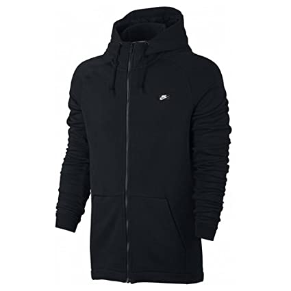 Nike mens M NSW MODERN HOODIE FZ FT 805130-010_XS - BLACK
