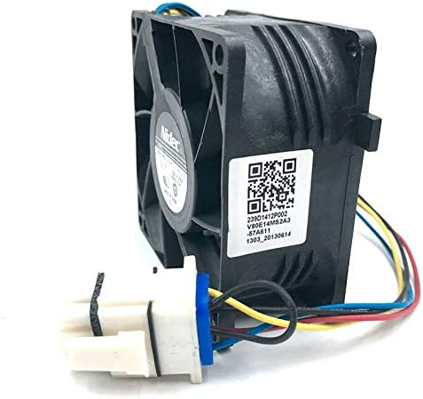 Refrigerator WR60X10356 cooling fan Brand new For Nidec V80E14MS2A3-57A611 13.6V 8038 waterproof cooler