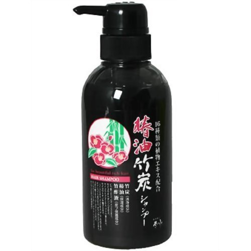 品適格幻影椿油竹炭シャンプー 340ml