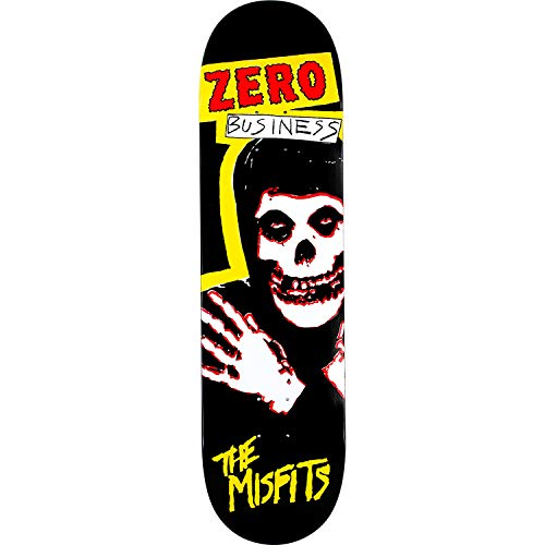 Zero Skateboards Misfits Zero Business Skateboard Deck - 8.25