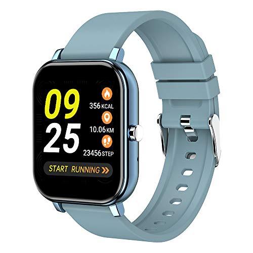 DALADA Smartwatch, 1,4 inch touchscreen-fitnesshorloge, fitnesstracker met hartslagmeter, smartwatch met stappenteller…