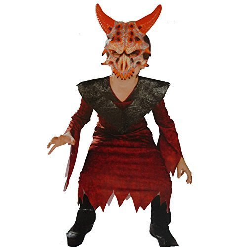 Demonic Devil Costume - Boys Size Small - Demonic Costumes