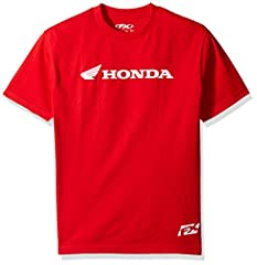 Front screened red t-shirt with standard fit. Officially licensed product.