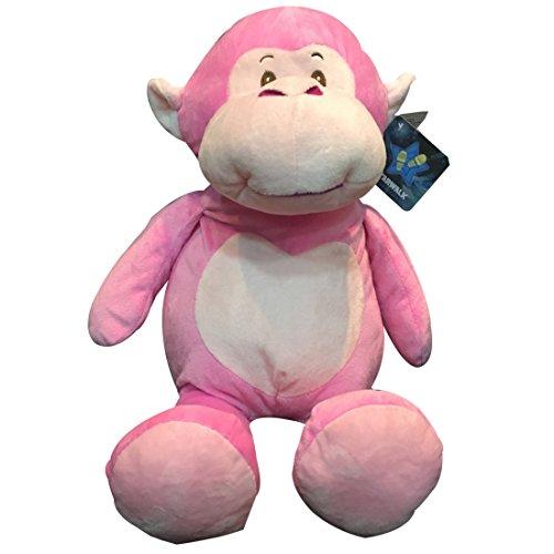 Starwalk Plush Monkey, Pink (46cm)