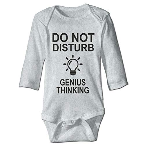 Baby Long Sleeve Bodysuit Disturb Light Bulb Snap Closure Toddler Baby Girls Boys Layette Romper Outfits