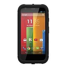 Trident Aegis Series Case for Motorola Moto G - Retail Packaging - Black