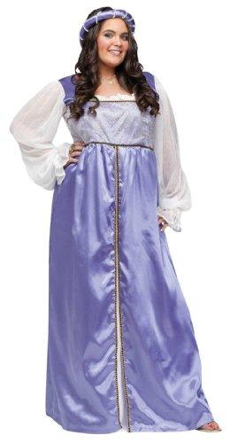 Lady Capulet Costumes (Lady Capulet Adult Plus Costume)