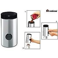Meliconi - Dosificador de café automático, de acero