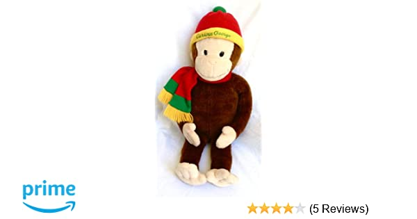 Amazon.com: Macys Limited Edition Curious George Plush Doll with Book Curious George in the Big City: Toys & Games