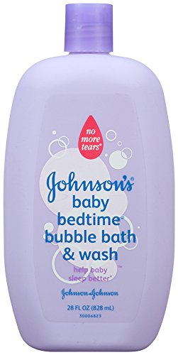 Johnson's Bedtime Baby Bubble Bath And Wash, 28.0 Fl. Oz (Pack of 4)