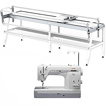 Janome 1600P-QC and Grace GQ Frame Quilter Combo by Grace: Amazon ...
