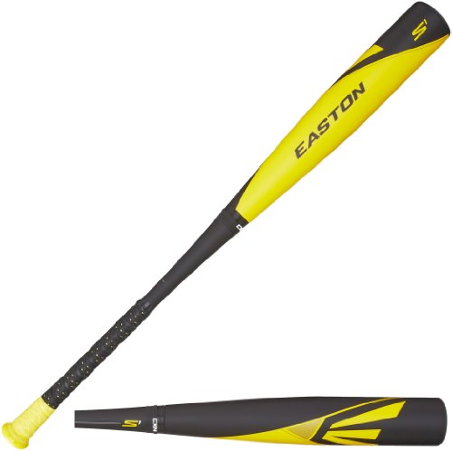 Easton BB14S1 S1 Composite-3 BBCOR Baseball Bat, Black/Yellow, 34-Inch/31-Ounce