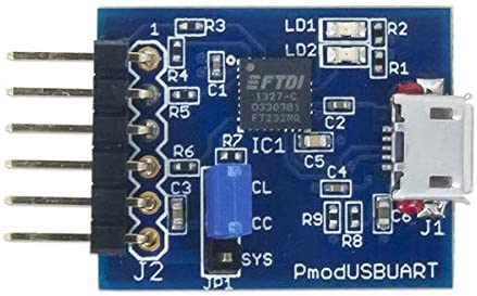 Digilent PmodUSBUART USB to UART Interface 410-212 Pmod USBUART