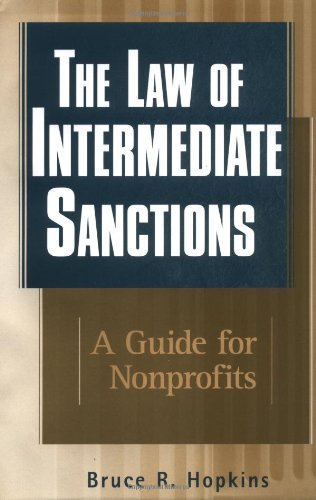 The Law Of Intermediate Sanctions: A Guide For Nonprofits