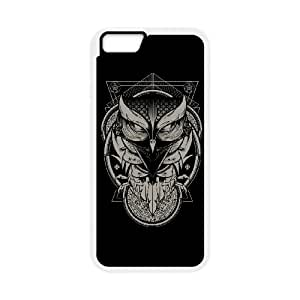 iPhone 6 Plus 5.5 Inch Cell Phone Case White Alchemy Owl ibjg