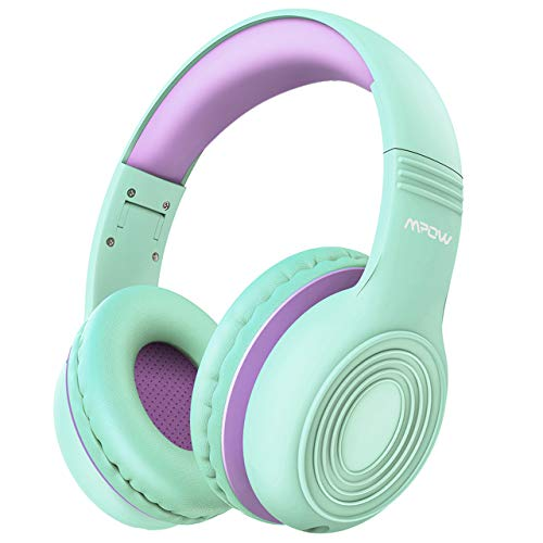 Mpow CH6 Kids Headphones Over Ear, Volume Limited Switch for Noisy Environments,...