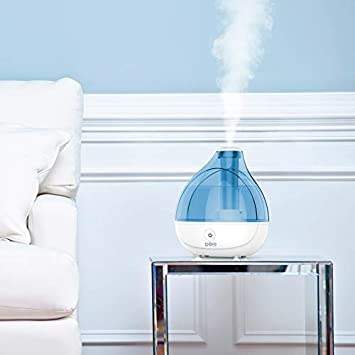 Pure Enrichment MistAire Ultrasonic Cool Mist Humidifier – Premium Humidifying Unit with 1.5L Water Tank, Whisper-Quiet Operation, Automatic Shut-Off and Night Light Function – Lasts Up to 16 Hours