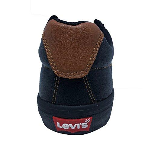 Levis Turner Nappa Gymnastikskor Svart / Tan 518.218-09 Aa-9 9,5