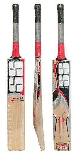 SS Yuvi 20/20 Cricket Bat Kashmir Willow by Sunridges