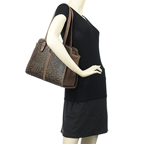 Trail Sac American pour Banadana unique Taille Trinity femme West Brown à main From BFq55nRx7