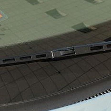 Delantero y Trasero Limpiaparabrisas para Audi A4 B6 22 y 22 en forma de armas 2000 - 2003: Amazon.es: Coche y moto