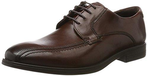 Tie Dress Men Shoes (ECCO Men's Melbourne Bike Tie Oxford, Mink, 44 EU/10-10.5 M US)