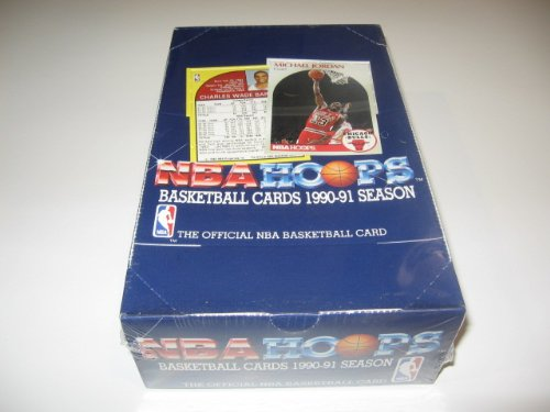 1990/91 Hoops Basketball Series 1 Box 1990 Hoops