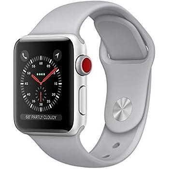 Amazon.com: Apple Watch Nike+ Series 3 38mm Smartwatch (GPS ...