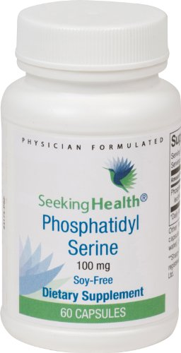 Phosphatidyl Phosophatidylserine formulated Seeking Health