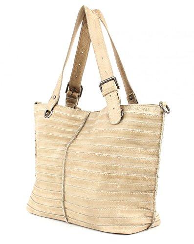 FREDsBRUDER Tasche - Shopzilla Stripes - Beige