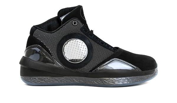 best service 90e2a 6a288 Amazon.com   Nike Men s AIR Jordan 2010 Men s Basketball Shoes 9  (Black Dark Charcoal-VAR RED)   Basketball