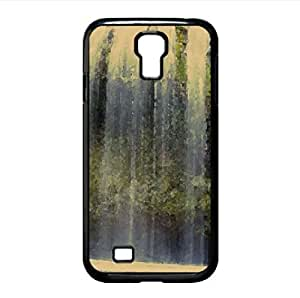 Falls Scenery Watercolor style Cover Samsung Galaxy S4 I9500 Case (Waterfalls Watercolor style Cover Samsung Galaxy S4 I9500 Case)