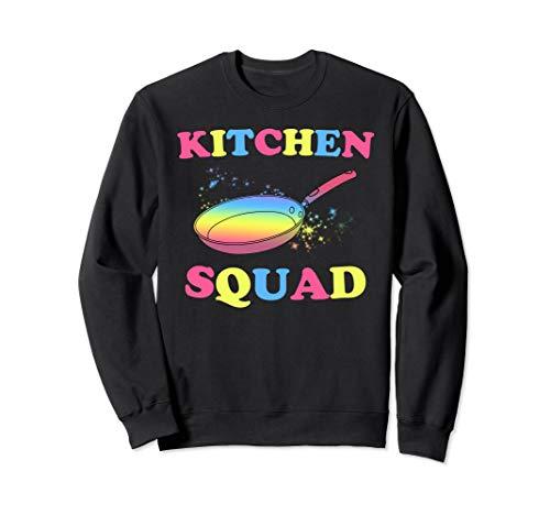 Kitchen Squad Funny Pansexual LGBT Sweatshirt