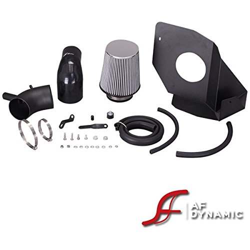 Heat Shield 2013-2014 for Hyundai Genesis Coupe 2.0T 2.0 Turbo R/&L Racing AF Dynamic Black Air Filter Intake Systems