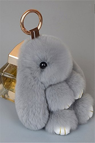 Price comparison product image Generic ultra-meng,_rabbit hair dead_rabbit_hanging_Ornaments _genuine_small_rabbit_backpack_hanging_in lazy_rabbit hair fur_Mang_Mang_Rabbit_Key_ chain