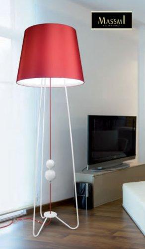 Lámpara de Pie Colección Contract Satin (Bombilla E27 Bajo ...