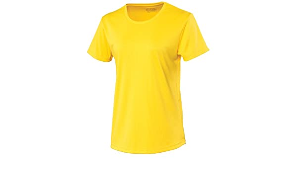AWDis Kids Short Sleeve Cool T Shirt Sun Yellow