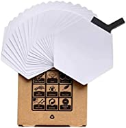 20 PCS Surfboard Traction Stickers, Surf Deck Pad, Waxless, Corrosion Resistant PC, Independent Grip and Tract