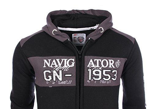 Geographical Norway homme - Sweatshirt Noir Geographical Norway Glapping - Taille vêtements - XXL
