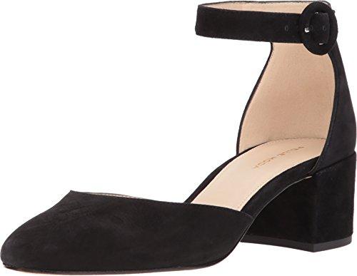 Pelle Moda New Womens Uma Black Suede Ankle Strap Heels Size 7.5