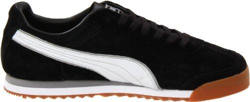Puma Roma Ll Nbk 2 Fashion Sneaker Black-White-Ash