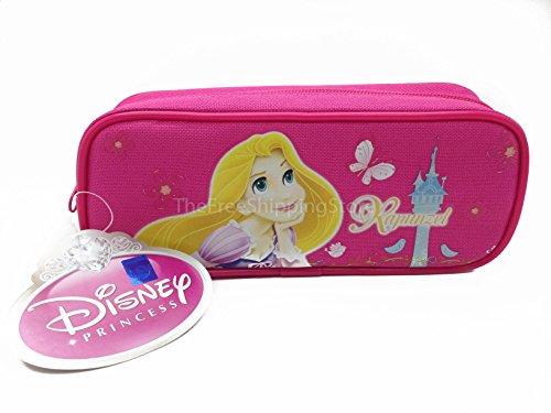 (Princess Rapunzel Pencil Case - Dark Pink)