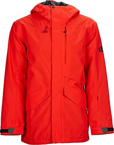 Bonfire Snowboarding Jacket - Bonfire Vector Insulated Snowboard Jacket Red Mens Sz L