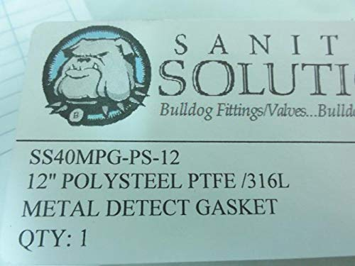 Sanitary Solutions 40MPG-PS-12 Poly Steel Gasket, 12'' Tube OD