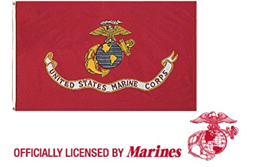 Rothco US Marine Corps Flag, 3' x 5'